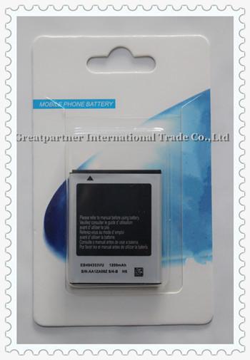 EB494353VU Battery for Samsung Galaxy Y Pro Galaxy Y Pro Duos GT-B5510 GT-i5510 GT-S5250 GT-S5330 GT-S5570 GT-S5750E GT-S7230(China (Mainland))