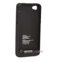Wholesale 1900mAh External Backup Power Battery Case Charger Skin Cover for iPhone 4 4G 4S 80614