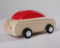 Baby Toys Eco-Friendly wooden car kit assembly  car