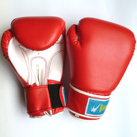 Freeshipping!! PU leather Breathable Sanda bboxing gloves /Sandbag glove/ Fight Boxing Gloves 12oz