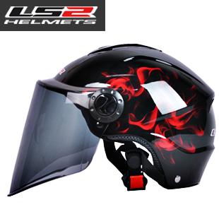 Motorcross Helmet Waterproof anti-uv ls2 motorcycle electric bicycle cap Motorbike helmet