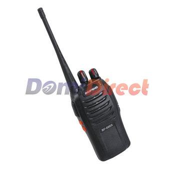 Portable two way radio Radio BaoFeng BF-666S  Walkie Talkie single band single frequency UHF 400-470MHz 5W 16CH 6KM distance
