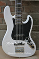 5 Strings DELUXE JAZZ BASS V - 705 - OLYMPIC WHITE, active pickups, Free Shipping