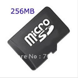 Full Capacity Micro SD Card TF Card New 256MB&128MB, Free Shipping