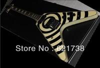 best Factory Musical Instruments Zakk Flying Custom with Floyd Rose Electric Guitar