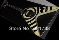 best Factory Musical Instruments Zakk Flying Custom with Floyd Rose Electric Guitar