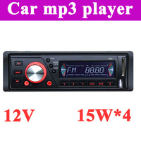 2013 new arrival hotselling Car mp3 player with FM radio LCD display Four channel output Free shipping dropshipping Cheap price