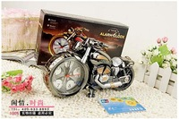 Hot selling Motorcycle Alarm Clock Cool Model Clock Fashion Personality Alarm Clock Office Decoration Crafts Gift