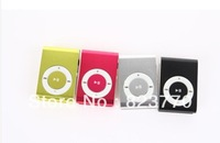 2013 new 30pcs/lot Free Shipping MINI clip mp3 Player with Micro TF / SD card slot, With box data cable and headphones