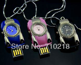 Genuine 2G/4G/8G/16G/32G flash drive pen drive usb flash drive Watch Free shipping+Drop shipping,Full Capacity,EU097(China (Mainland))