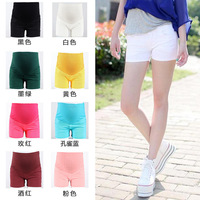 2013 new fashion casual candy color elastic waist   pregnant/maternity women's belly capris pants/shorts