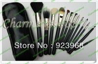 12 PCS Pro Cosmetic Makeup Brush Set Kit !!(1 pcs/lot)1pcs free shipping
