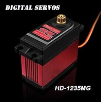 Power HD Digital Servo HD-1235MG high Voltage 40Kg for 1/5 Car can work for FUTABA JR