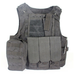 AAV BLACK COLOR Amphibians assault vest combat Molle design military Tactical Airsoft vest WIRE-STEEL-IN Free Shipping(China (Mainland))