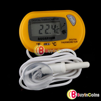 Digital Fish Tank LCD Aquarium Marine Water Thermometer[7103|01|01]