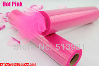 "new brand free shipping hot pink Tulle Roll Spool 12""x25YD Tutu Skirt DIY Wedding Party Favor Bow Decor New"