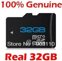 Free shipping Brand NEW 32GB MICROSD CLASS 10 MICRO SD HC MICROSDHC TF FLASH MEMORY CARD REAL 32 GB WITH SD ADAPTER