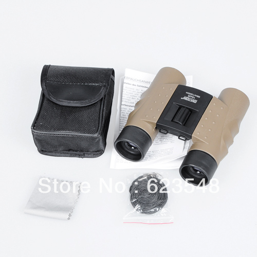 10X25 96M/1000M High Visibility Shimmer Night Vision Binoculars Telescope Hunting Camping Scope Free shipping(China (Mainland))