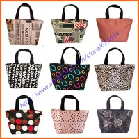 2013 New!!! (16 designs) Fashion Canvas Women's handbag Lunch Beach bag Makeup bags (30*21*12cm) Totes for Women Free Shipping
