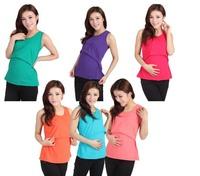 Elastic maternity clothing / Nursing vest/ Suckle camis