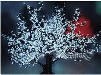 2 pcs Free shipping NEW 100% LED Tree Lights wholesale and retail!