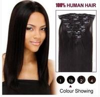 Free shipping real hair hairpin hair piece of hair