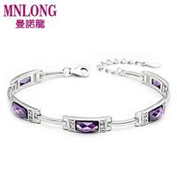925 silver pure silver 925 pure silver bracelet female fashion silver fashion jewelry birthday gifts bridal accessories