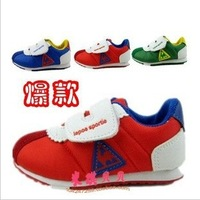 Free shipping 2013 explosion models Korean cock sneakers children 's shoes Boys Girls Shoes canvas shoes long 13 -15cm
