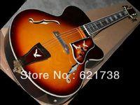 best Custom Shop Hollow Sunburst Jazz Guitar From China HOT