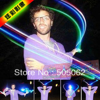 2000pcs/lot LED Magic Finger Lights Finger Laser Lights Blister Card Birthday Xmas Party Supplies Children Gift Toys
