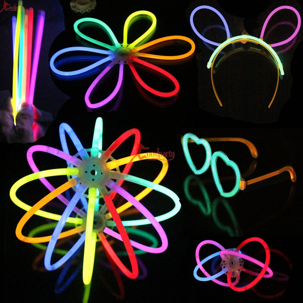 Concert supplies glow stick disposable chemical neon stick glow bracelets led glasses lantern(China (Mainland))