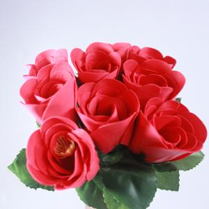 Novelty Items gifts Romantic rose soap 10pc FREE SHIPPING(China (Mainland))