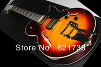 New Exquisite Hollow Body Electric Guitar es 335 mint Sunburst jazz electric guitar