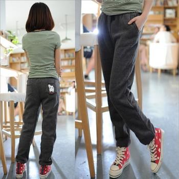 Free shipping Ashiqi - New Pants cute dog Haren put women's casual sports pants