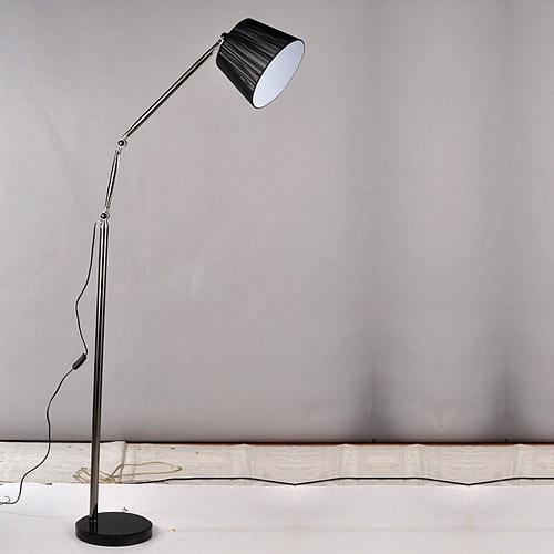 home bedroom floor lamp balcony floor lamp black wiredrawing 9982 fa. Black Bedroom Furniture Sets. Home Design Ideas