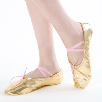 Dance shoes japanned leather soft outsole dance shoes yoga shoes cat shoes ballet shoes