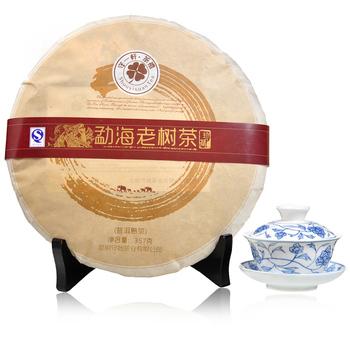 Tea PU er tea green wool tea 357 tea, cooked sweet new year