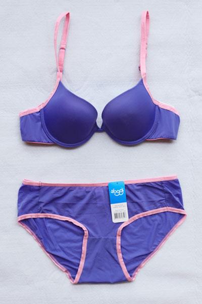 sloggi синий фиолетовый вискоза ткань глянцевая
