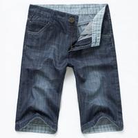 Ekecel2013 slim thin denim capris denim shorts knee-length pants