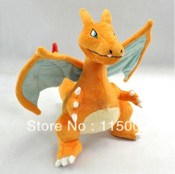 "NEW rare Pokemon Charizard 13"" Figure Plush Soft Doll Toy Free Shipping"