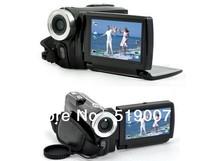 DV-T90+ Dual Solar 3'' digital video camera 12 mega 5 mega cmos multi-language solar mini camera