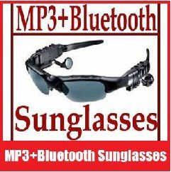 4GB Sunglasses Mp3 Player with Bluetooth handset, FREE SHIPPING