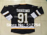#91 Vladimir Tarasenko Jersey,Ice Hockey Jersey,Best quality,Embroidery logos,Authentic Jersey,Size M--XXXL,Accept Mix Order
