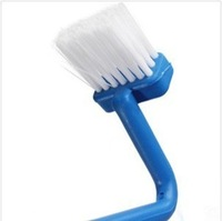 Put brand new Japanese s-shaped curved handle toilet cleaning brush  ,Free Shipping