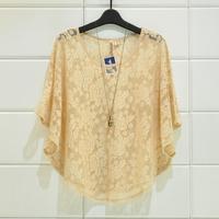 Eyeshadow full lace cloak 3 batwing shirt