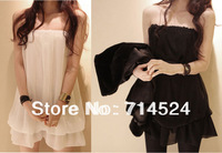 2013 New  Comfortable Large Size Summer Soft Chiffon Maternity Clothing One-piece Dress for Pregnant Woman