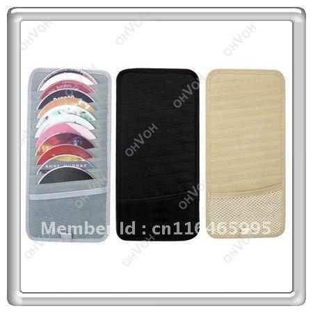 Promotion! Multi Dvd box soft bag Car CD DVD Case Box Free Shipping(China (Mainland))