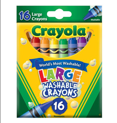 Gold medal for c ray ola 16 water wash big crayon 52 - 3281 baby paint brush(China (Mainland))
