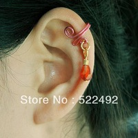 (Mix Order > $10 is Free Shipping) New Arrivals Punk Fashion Non-pierced Women's Ear Clip earrings Excellent Quality(6 pcs)