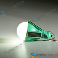 Novelty 4 Solar Panel LED Lamp Portable Waterproof Outdoor Energy Conservation hanging Camping Light
